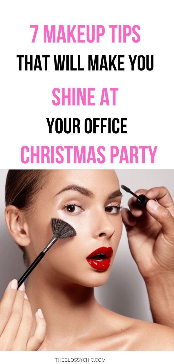 makeup tips for office christmas party