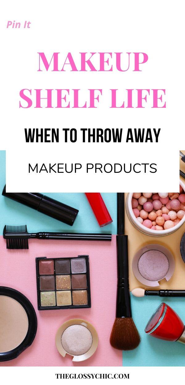 when should you throw away makeup?
