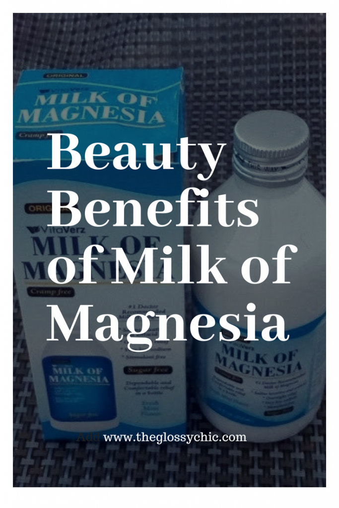 beauty benefits of milk of magnesia