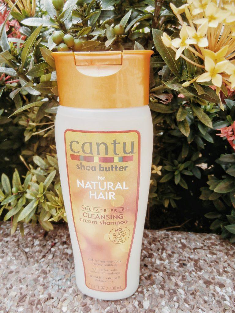 cantu sulfate free cleansing cream shampoo