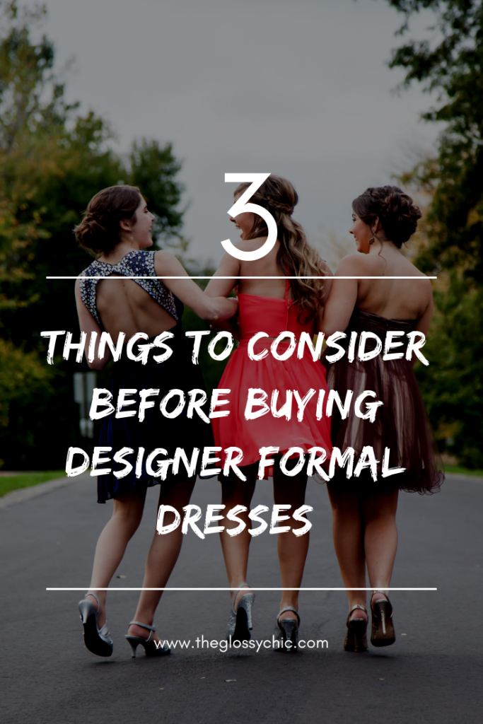 buying designer formal dresses