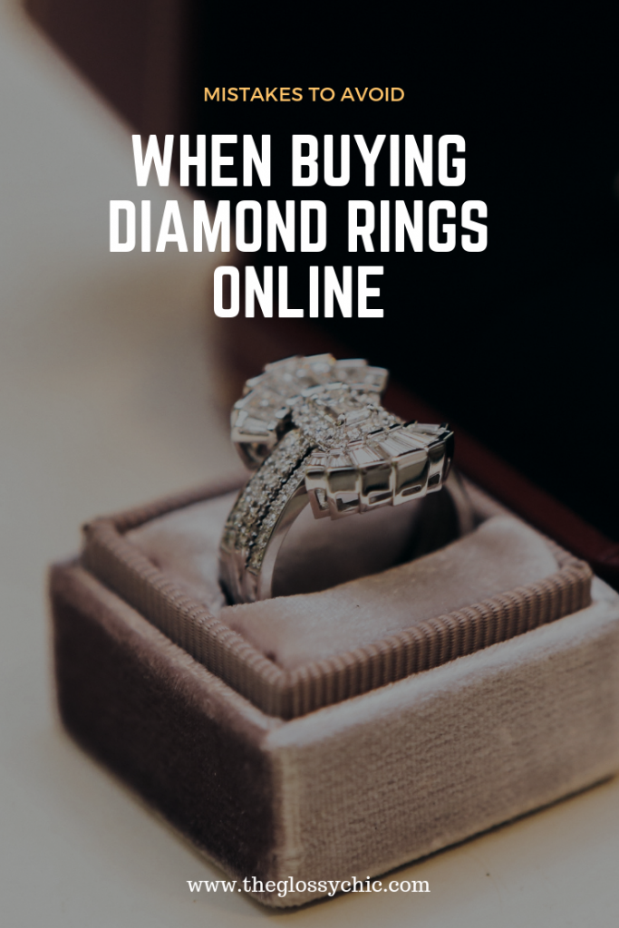 mistakes to avoid when shopping for diamond rings online