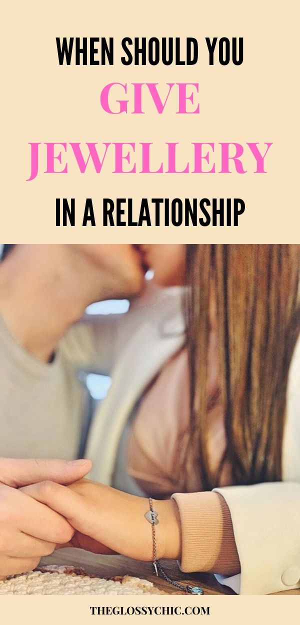 when should you gift jewellery in a relationship