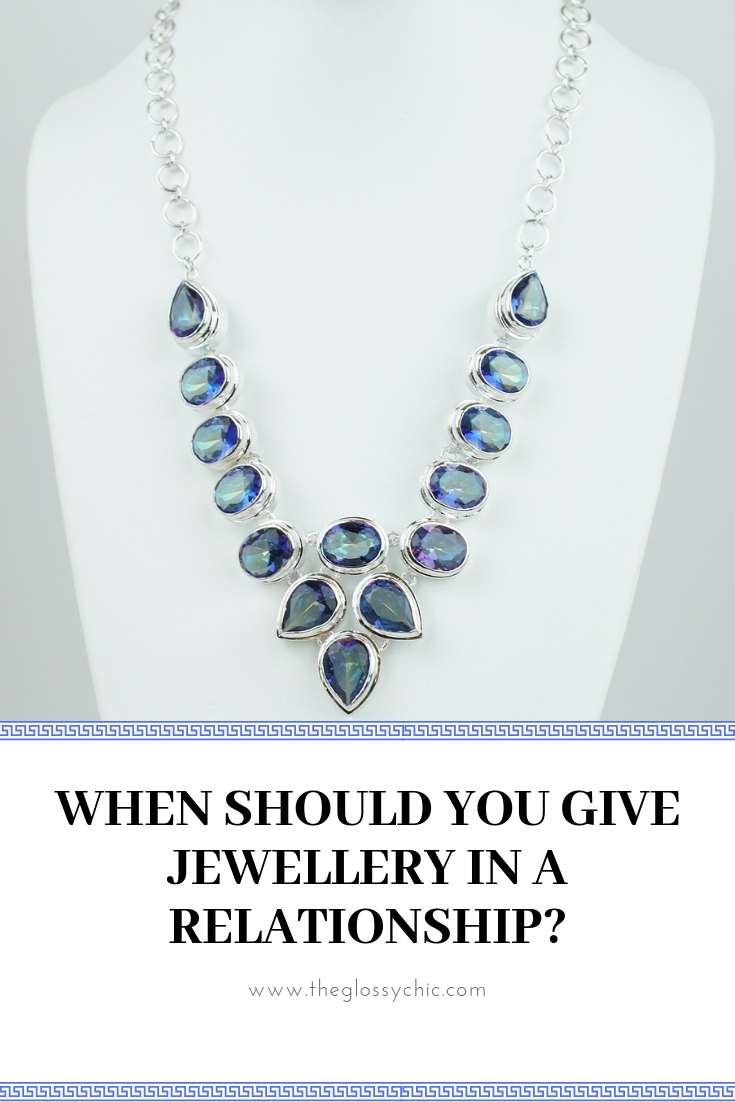 when to gift jewelry