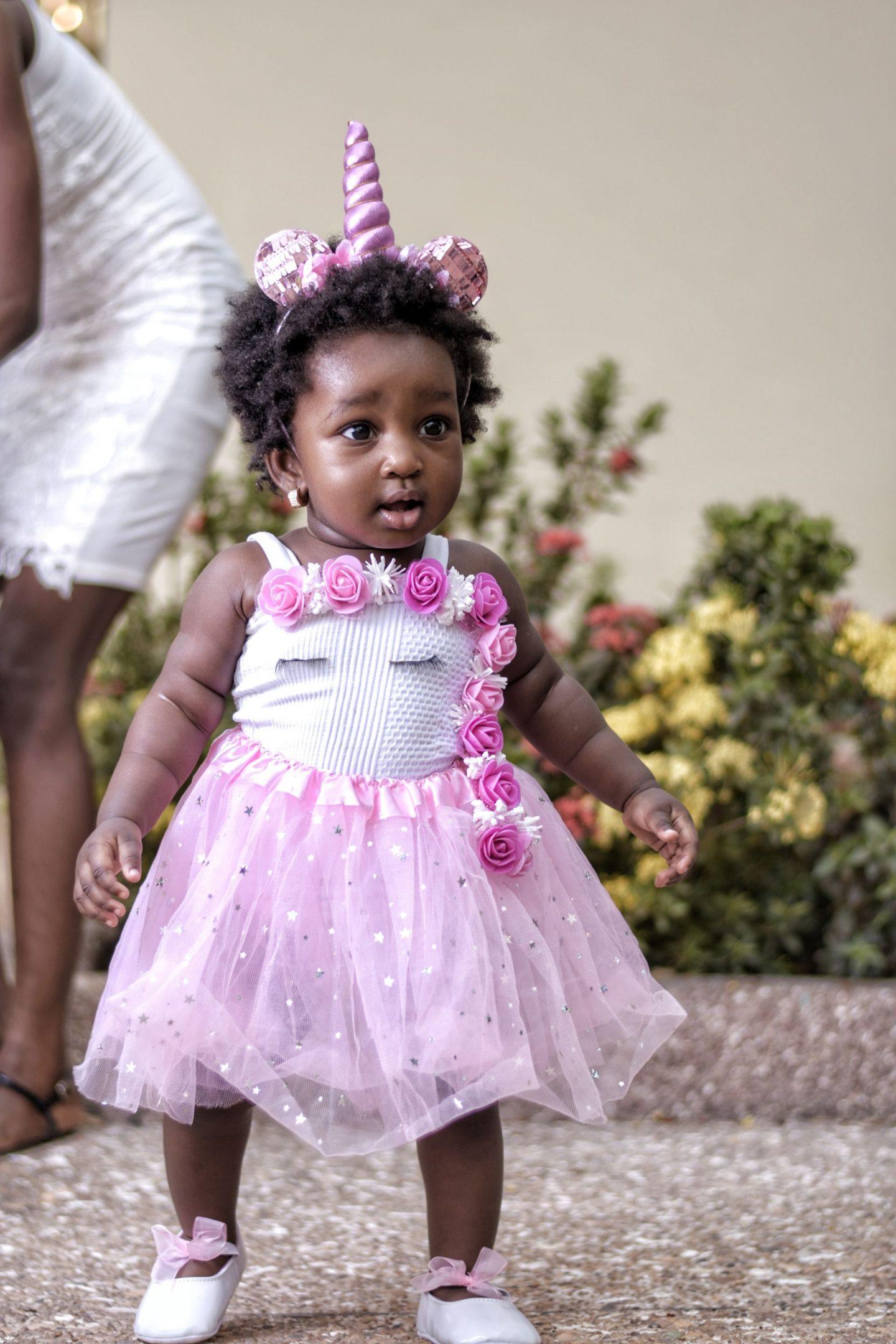 1 year old birthday girl