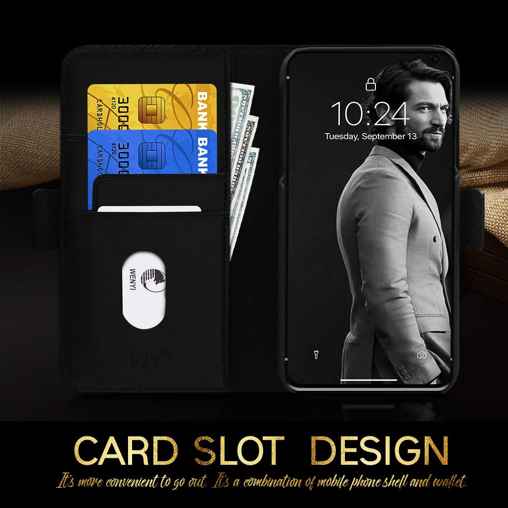 leather phone case card holder