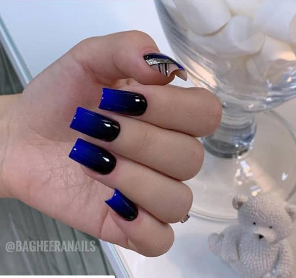 ombre nail design ideas