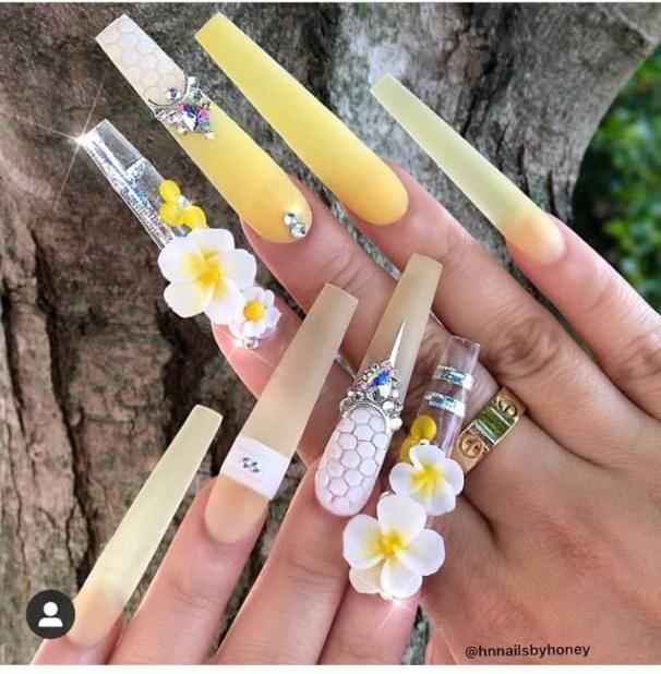 extra long nails