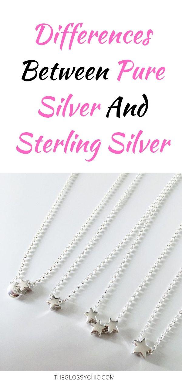pure silver vs sterling silver