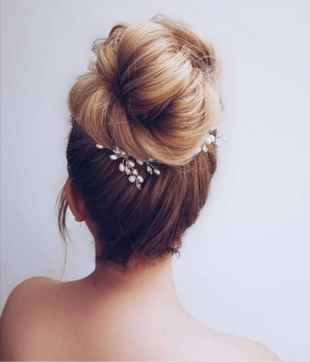 bun hairstyles for wedding