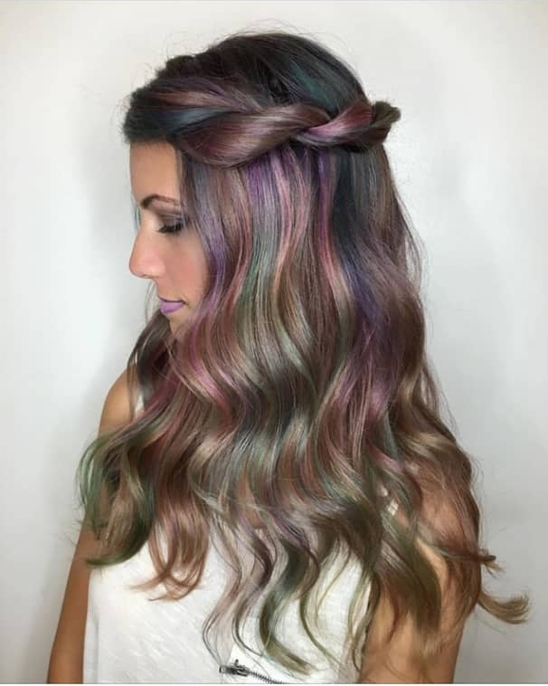 cocolourful long wavy hairstyles