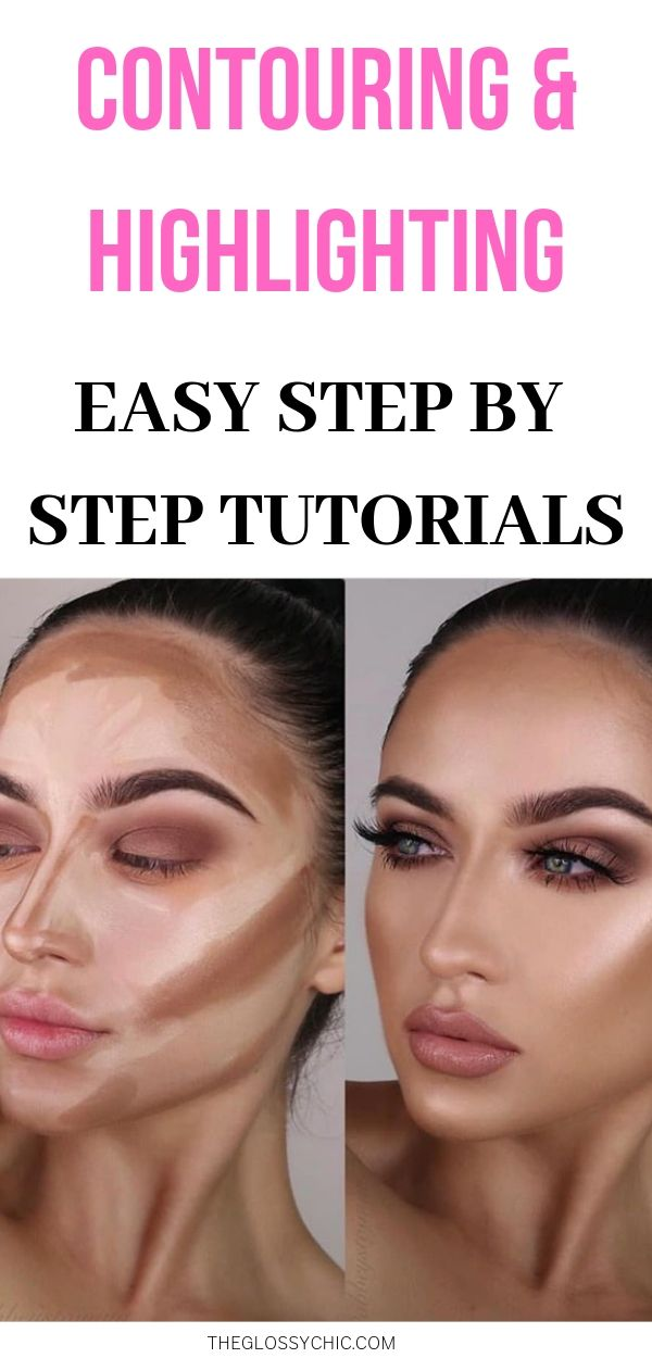 easy contouring and highlighting tutorials