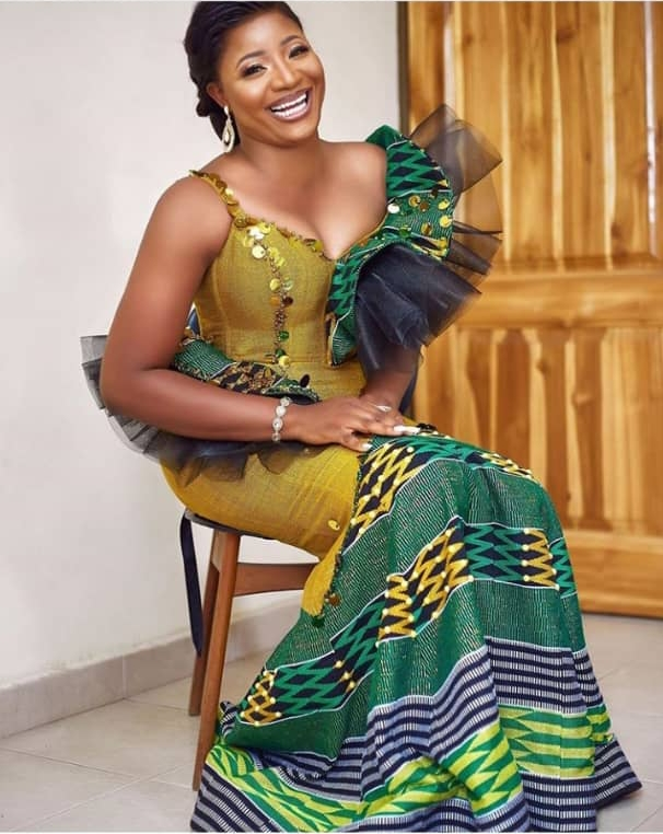 wedding dress styles for african traditional wedding