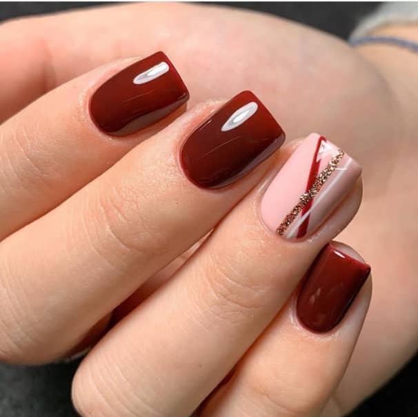 christmas nail arts