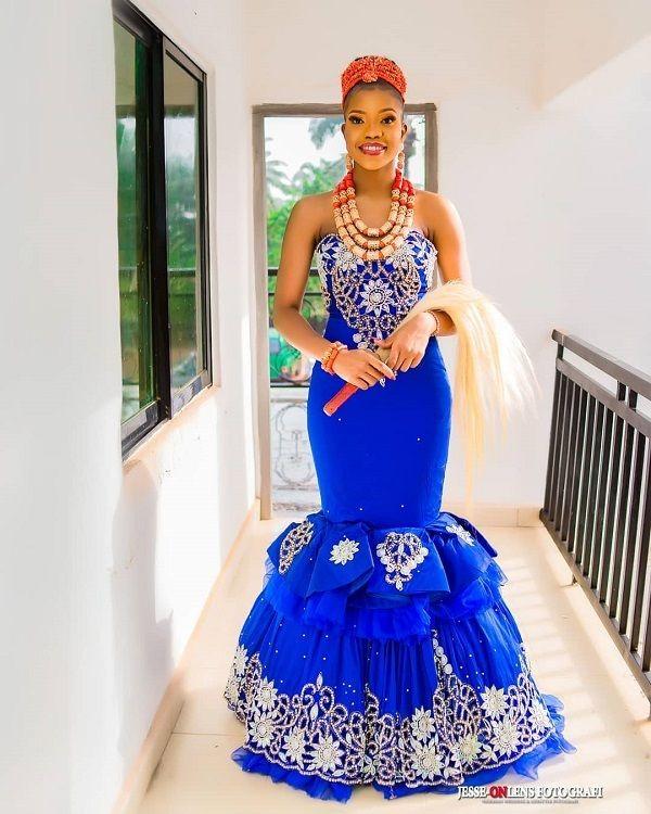 african traditional wedding dress