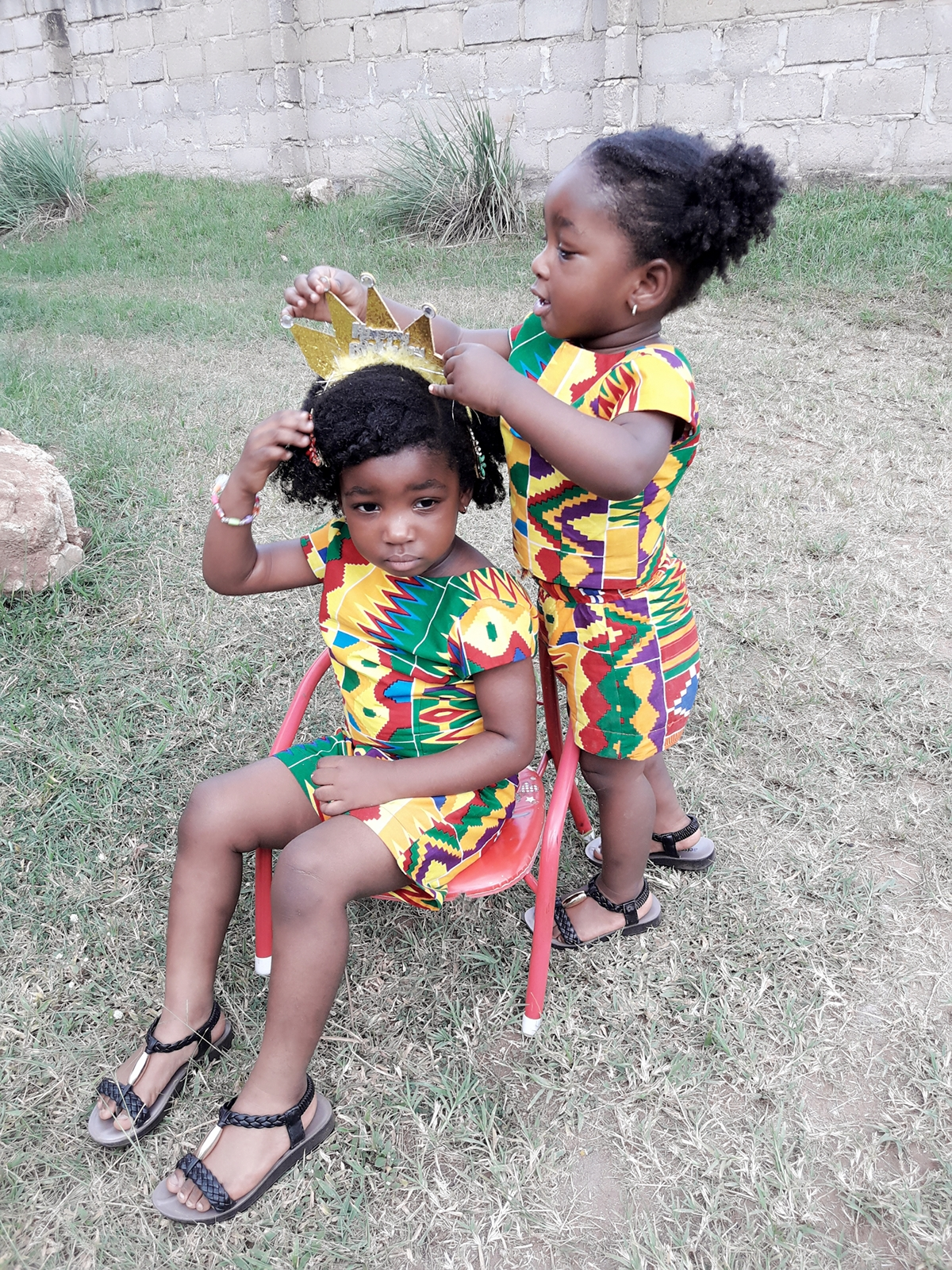 kente outfit for kids