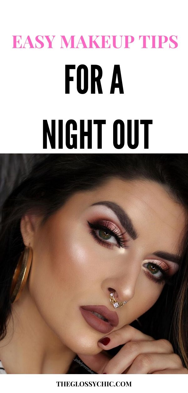 how to do makeup at night