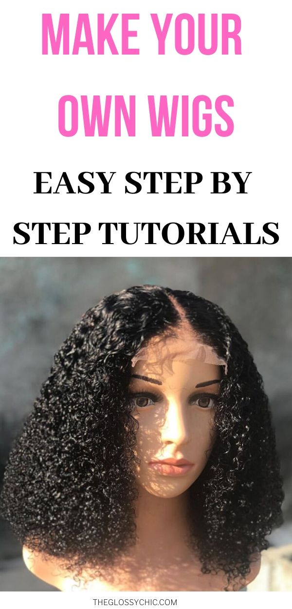 how to make your own wig
