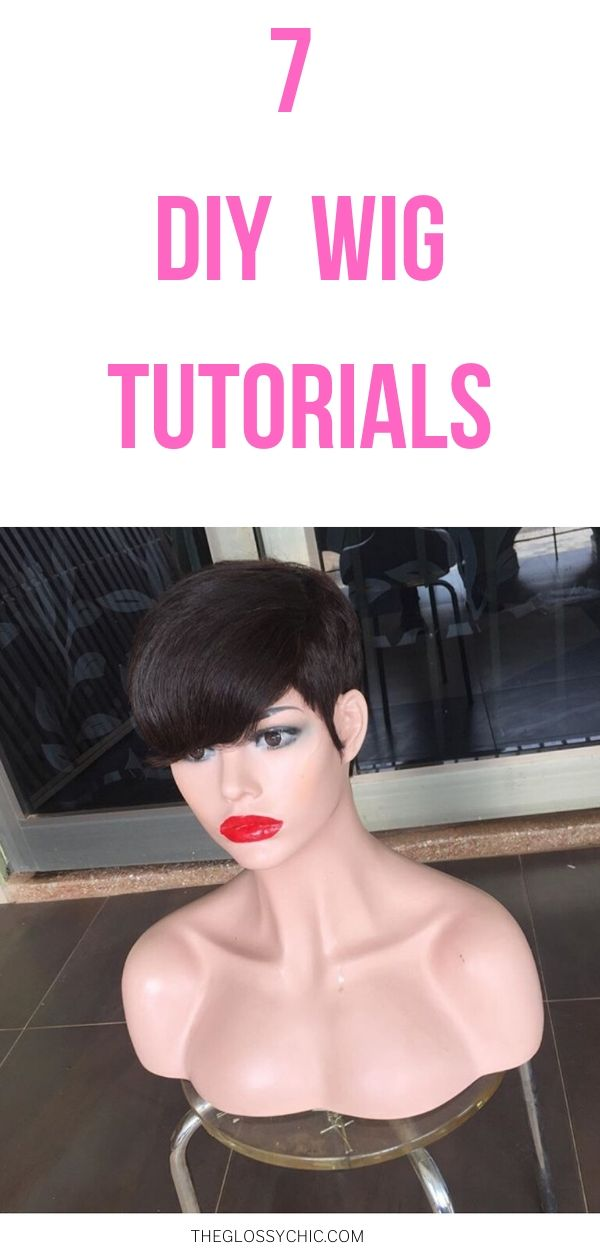 step by step tutorials to make a wig