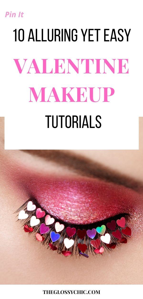 gorgeous val's day makeup tutrorials
