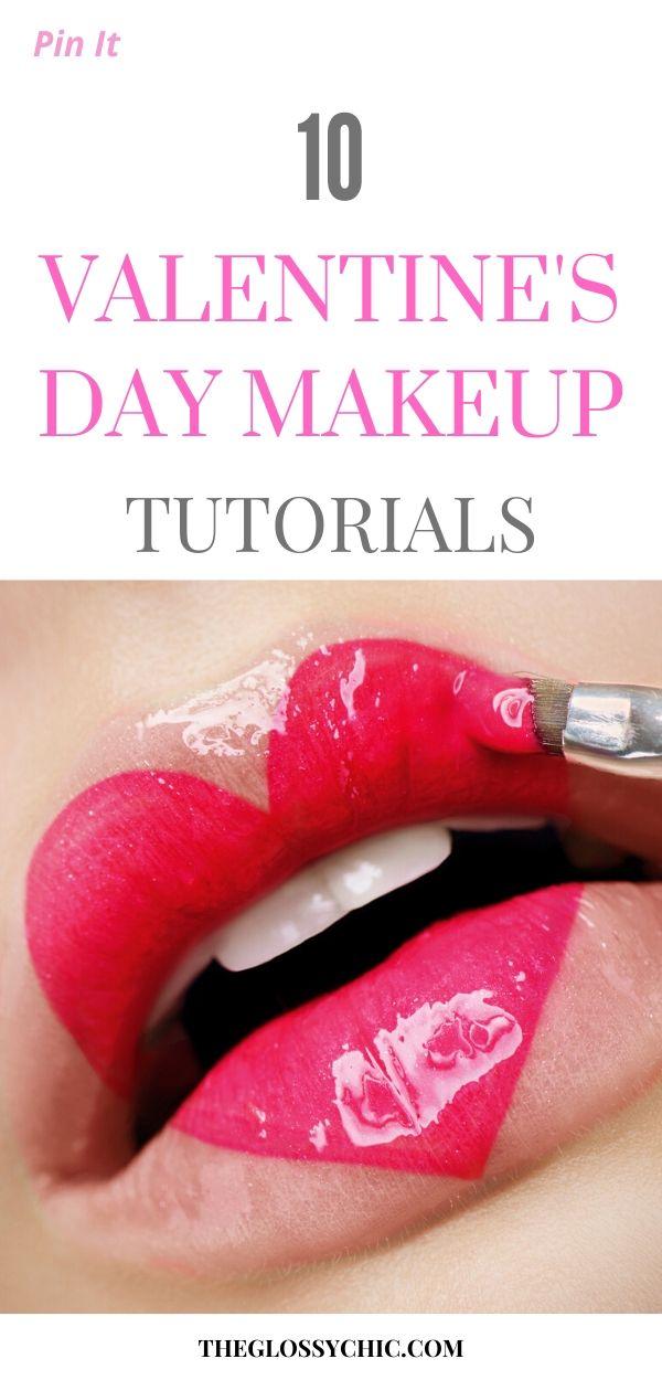 easy valentine's day makeup tutorials