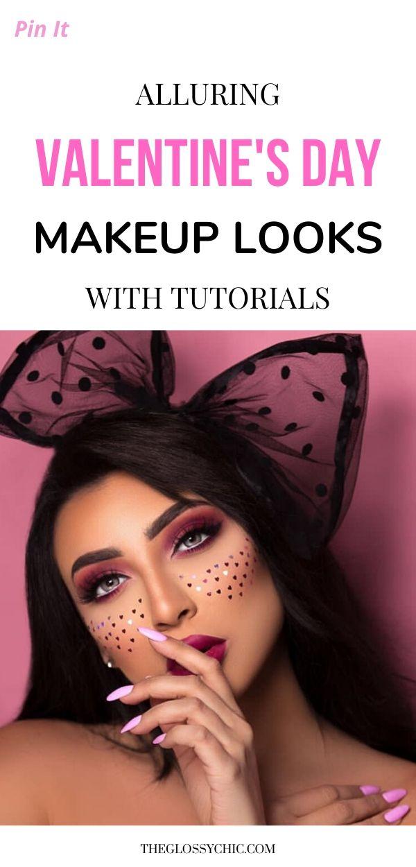easy yet alluring valentine makeup tutorials