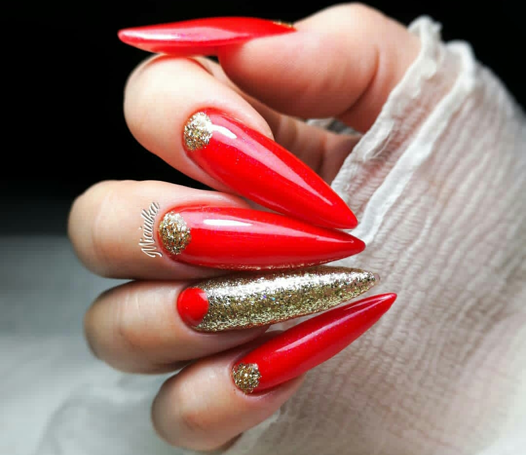 red nail designs 2020