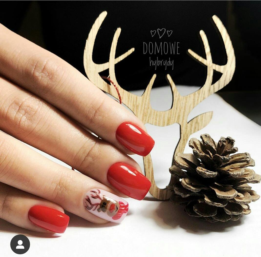 red nail designs 2020