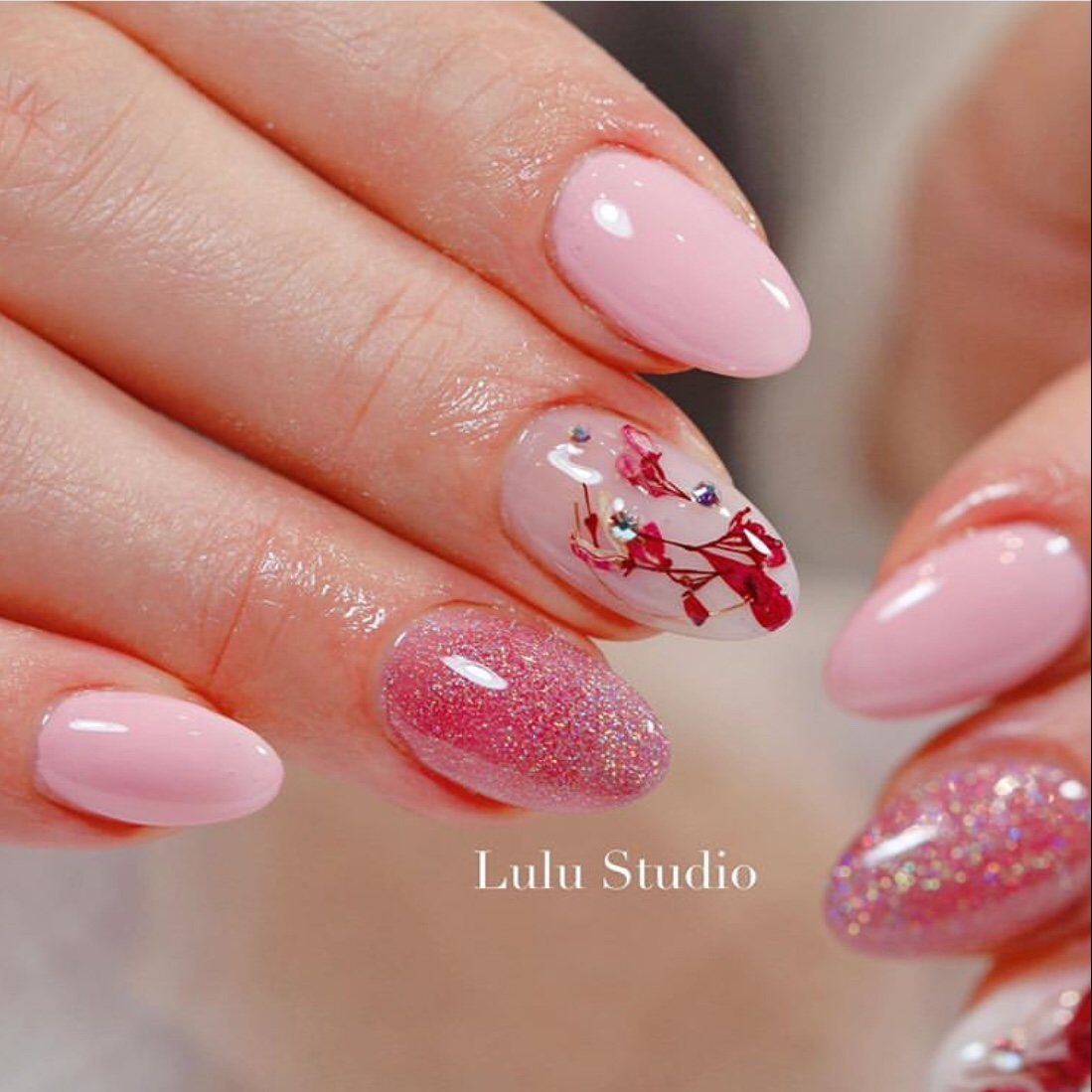 dry flower nail