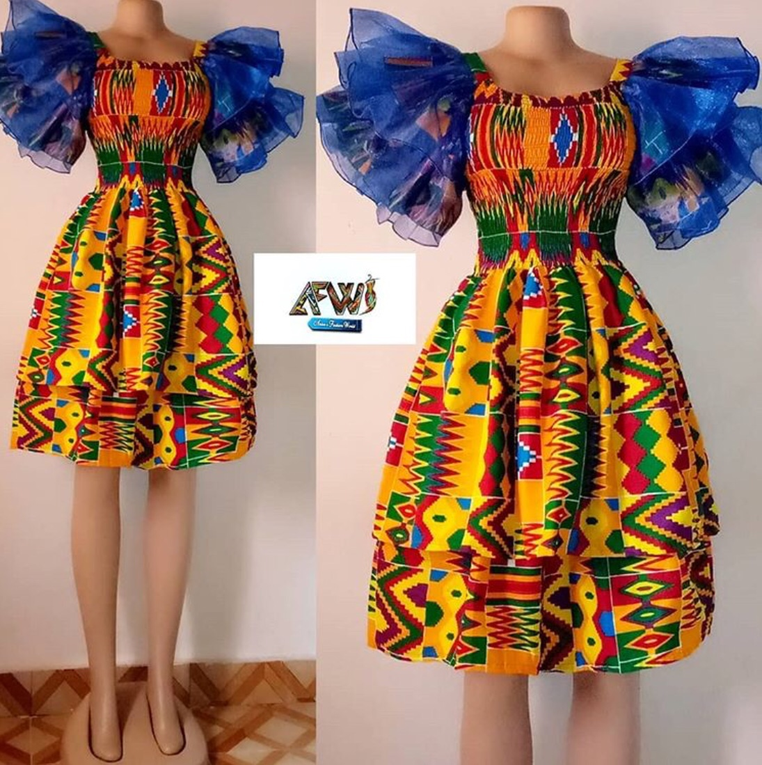 ankara dress styles