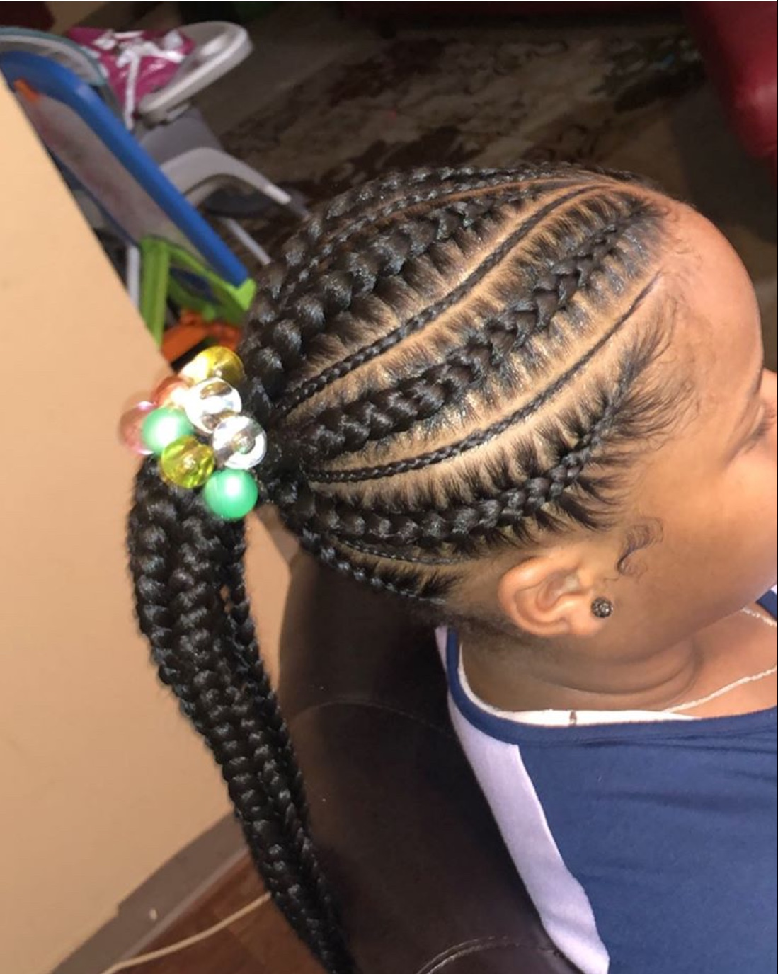 ponytail hairstyles for kids