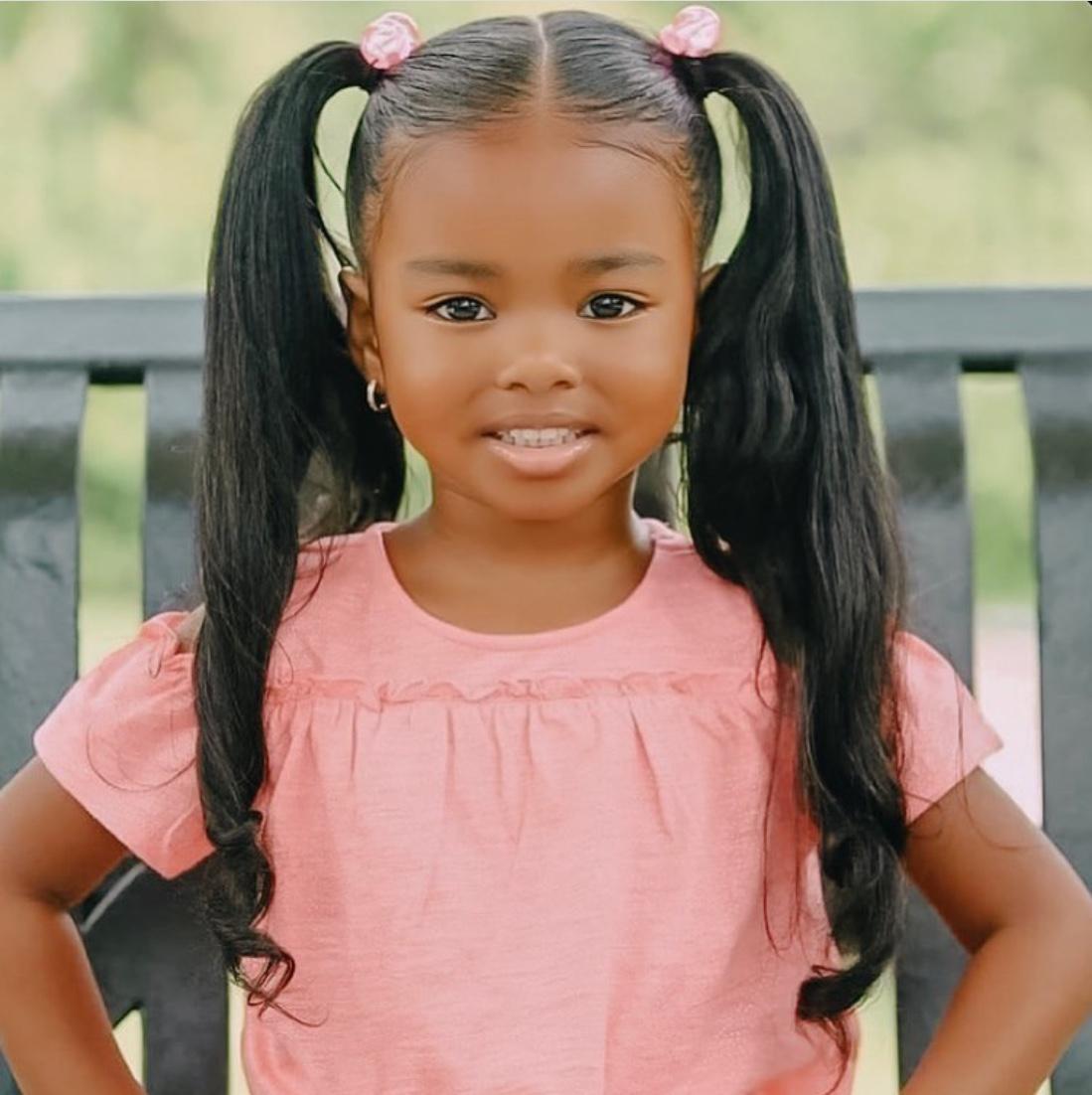 kids ponytail