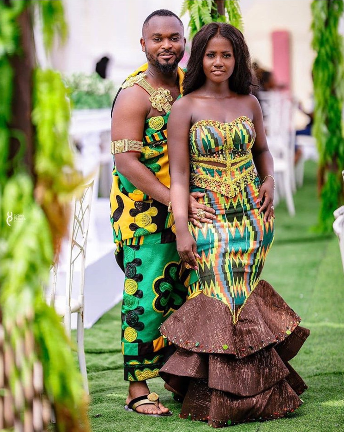 14 Gorgeous Kente Styles For Couples - The Glossychic