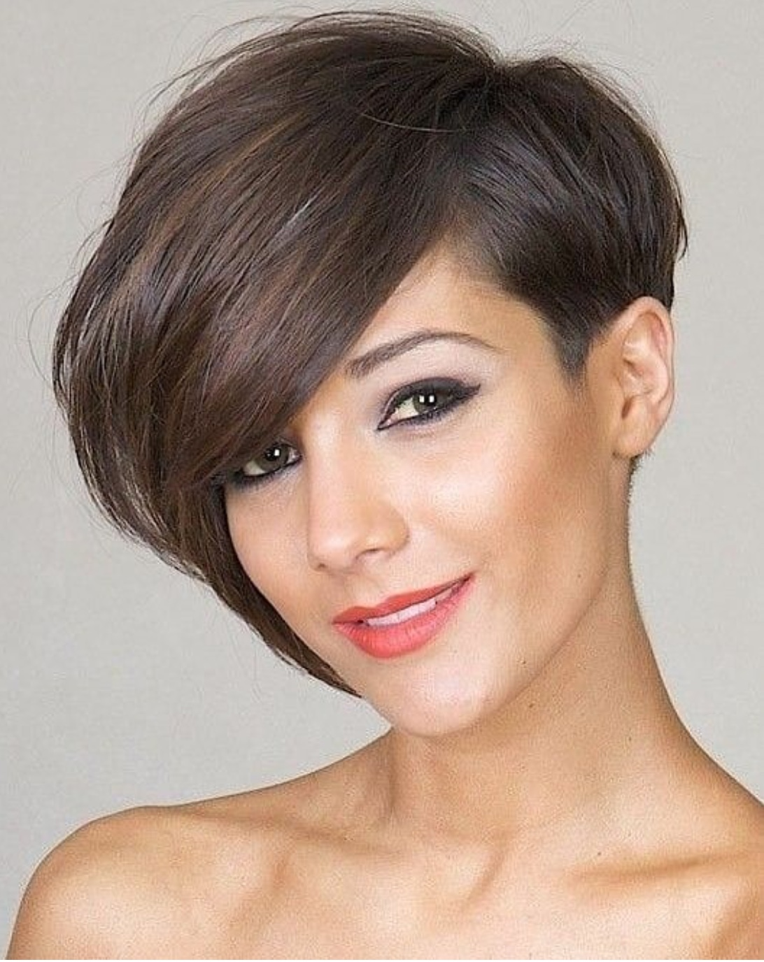 side bob hairstyle