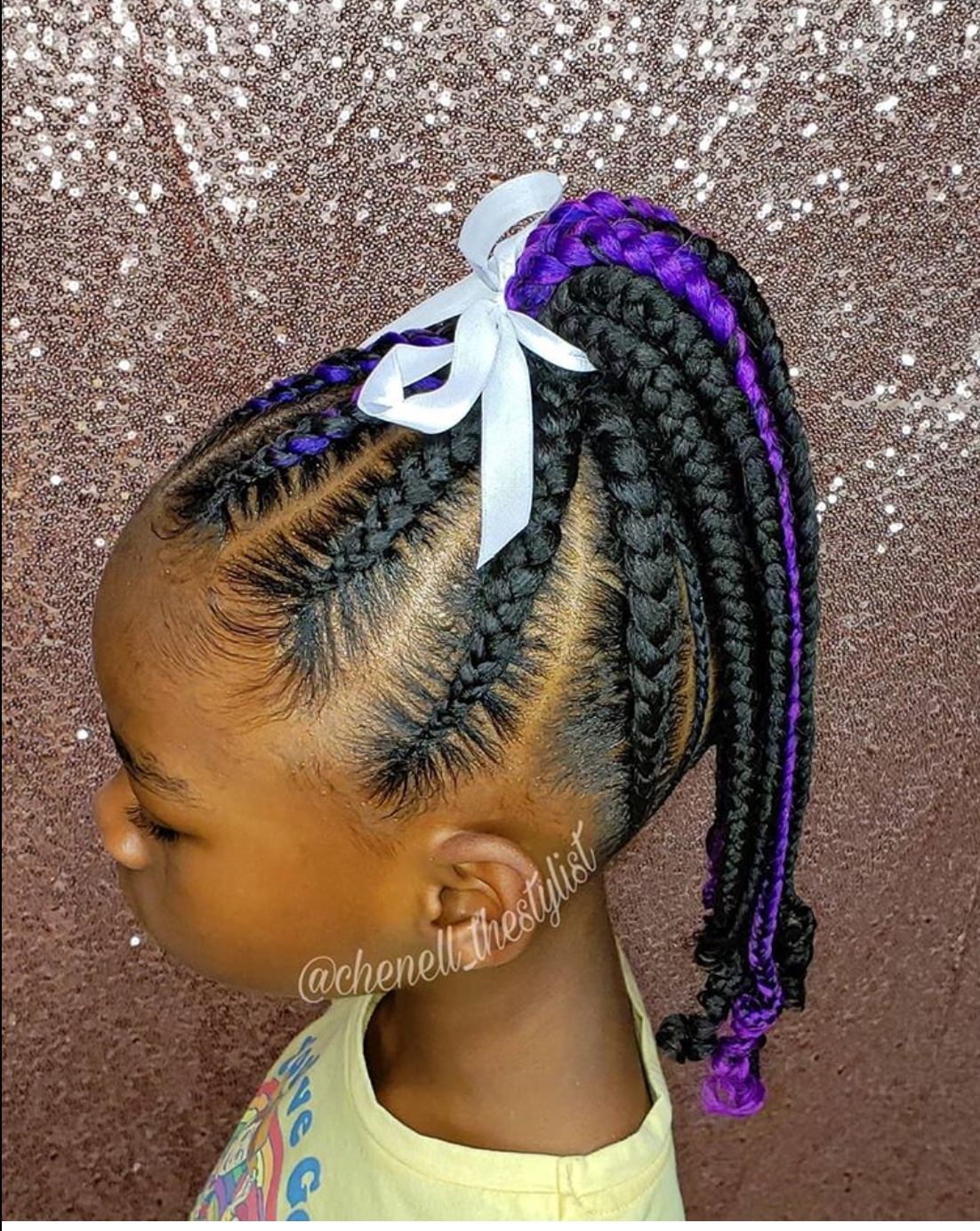ponytail styles for kids