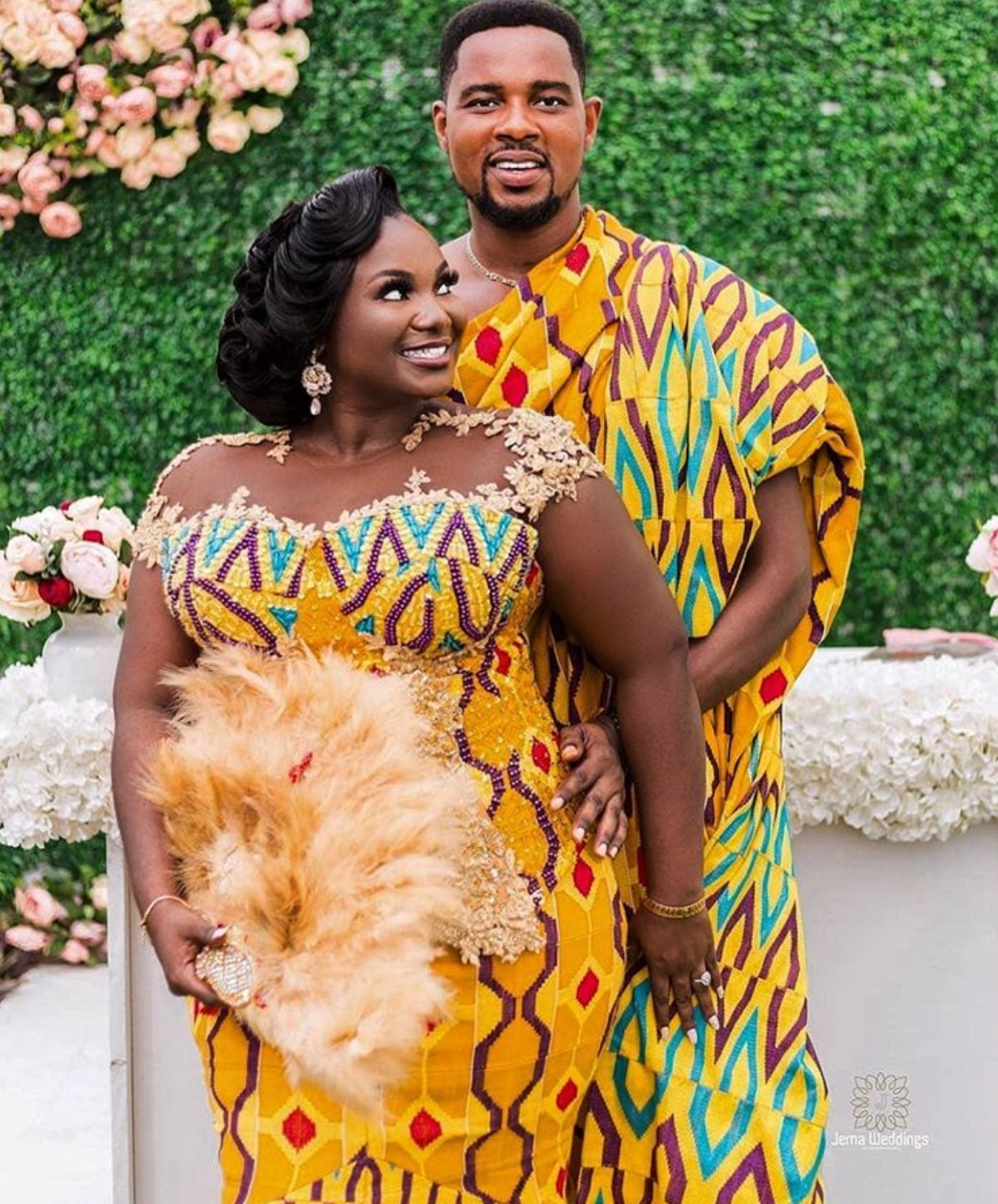 kente styles for couples