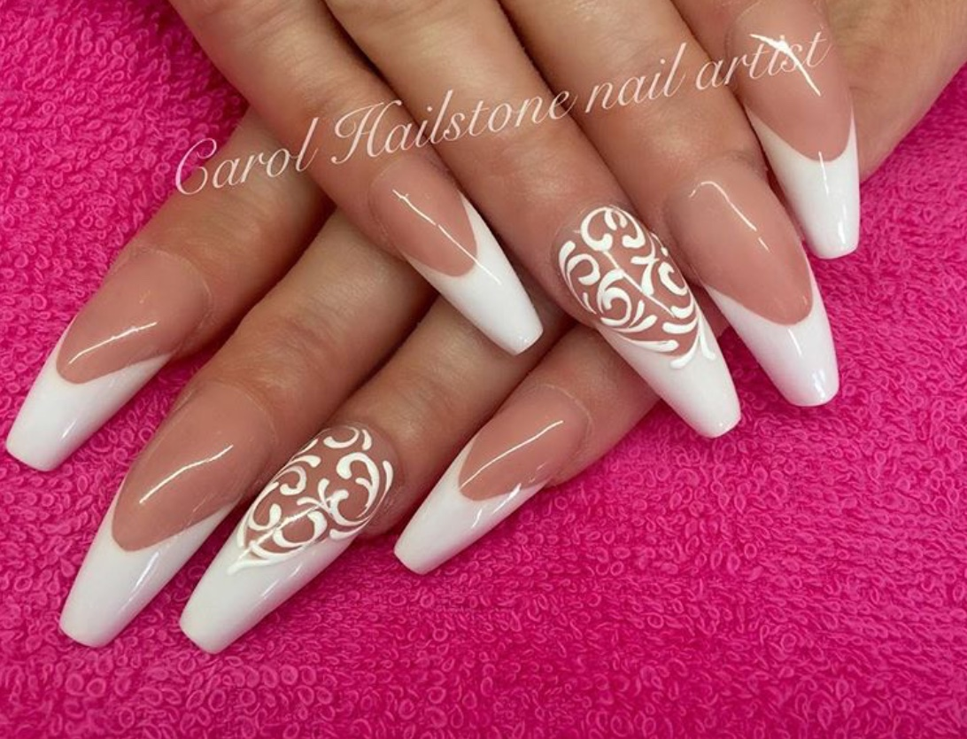 filigree nails