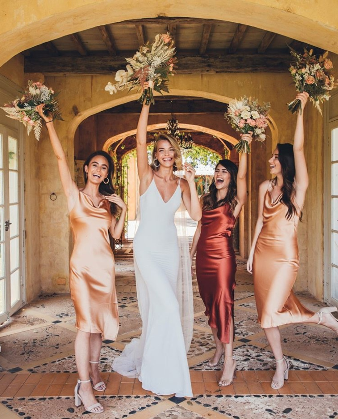 Boho bridesmaid dresses