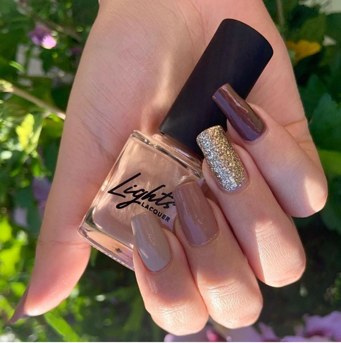 brown nail designs