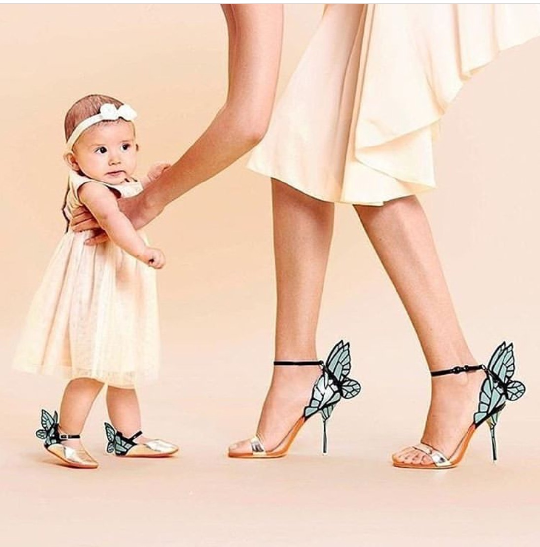 mommy and me butterflyshoes