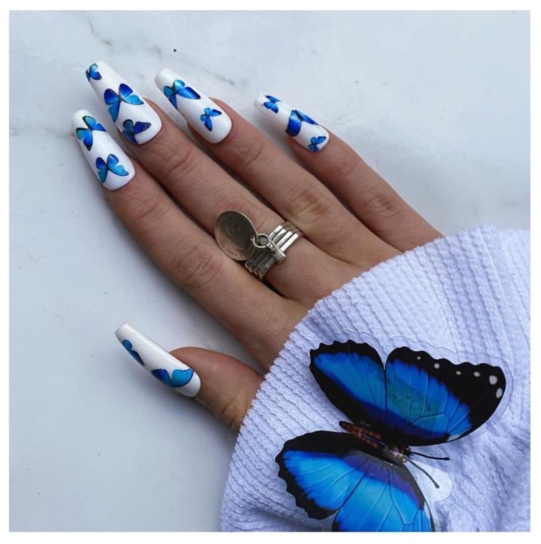 stunning coffin nails
