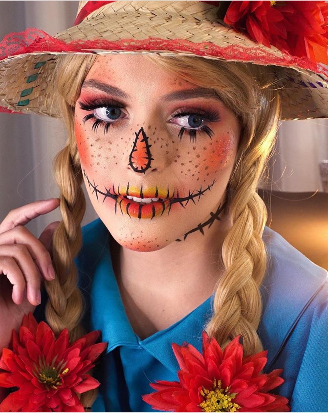 Scarecrow makeup