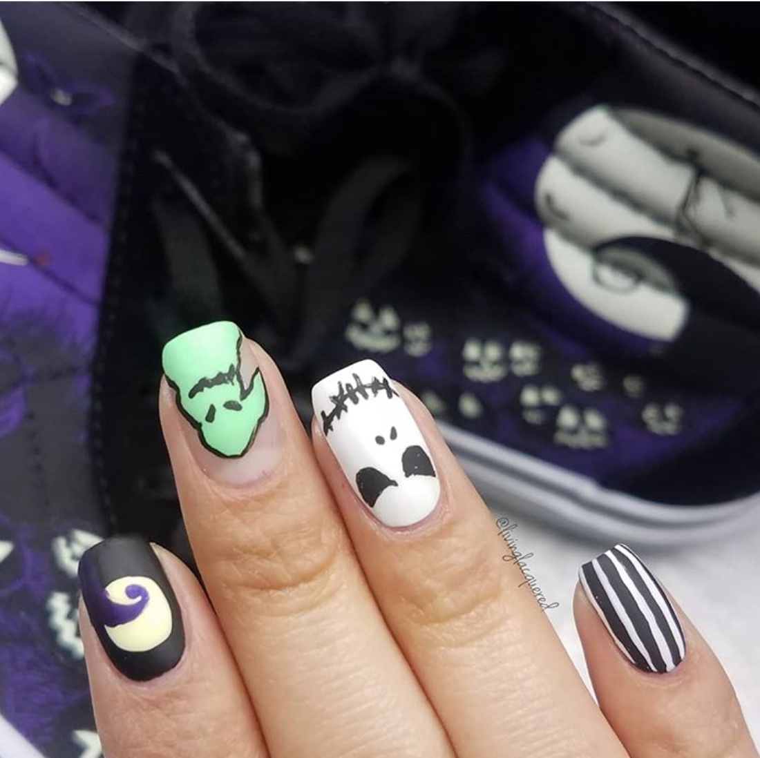 Halloween nails 2020