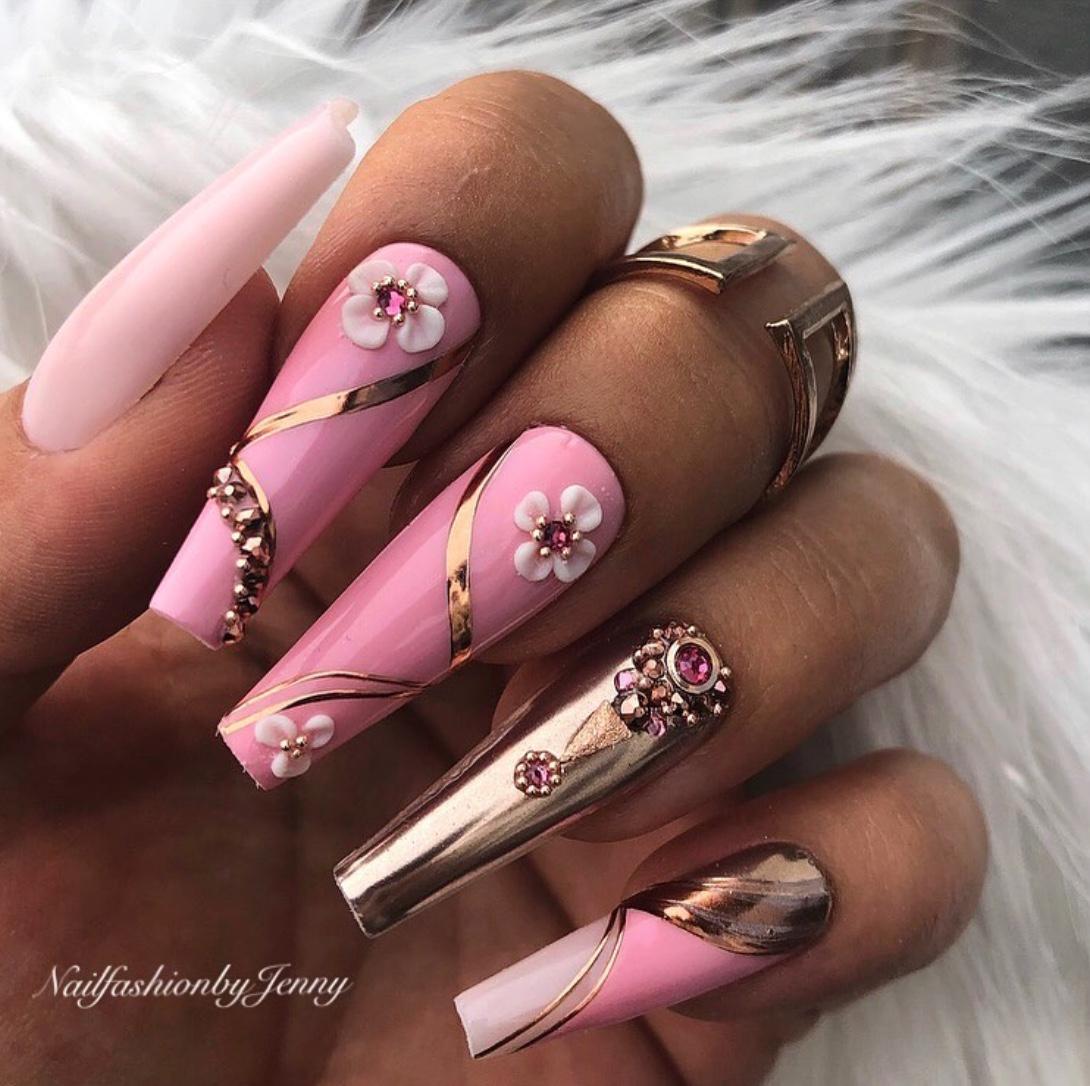 pink and rosegold nais