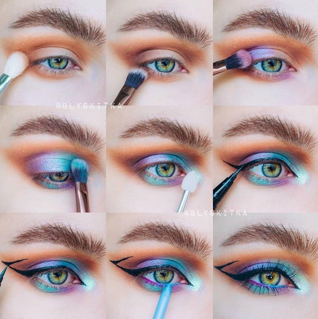 eye makeup tutorials pictures
