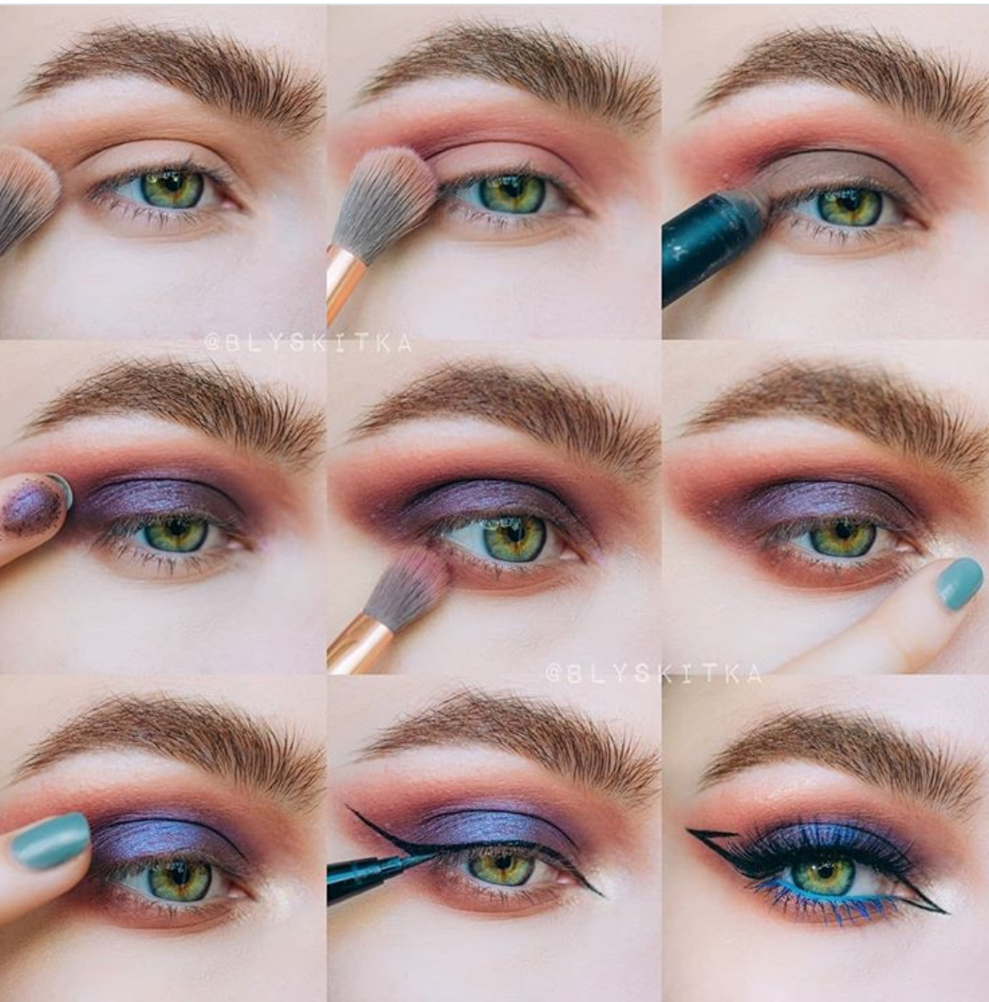 apply your eye makeup like a pro