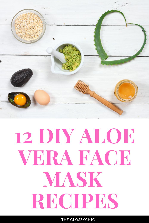 12 DIY aloe vera face mask recipes