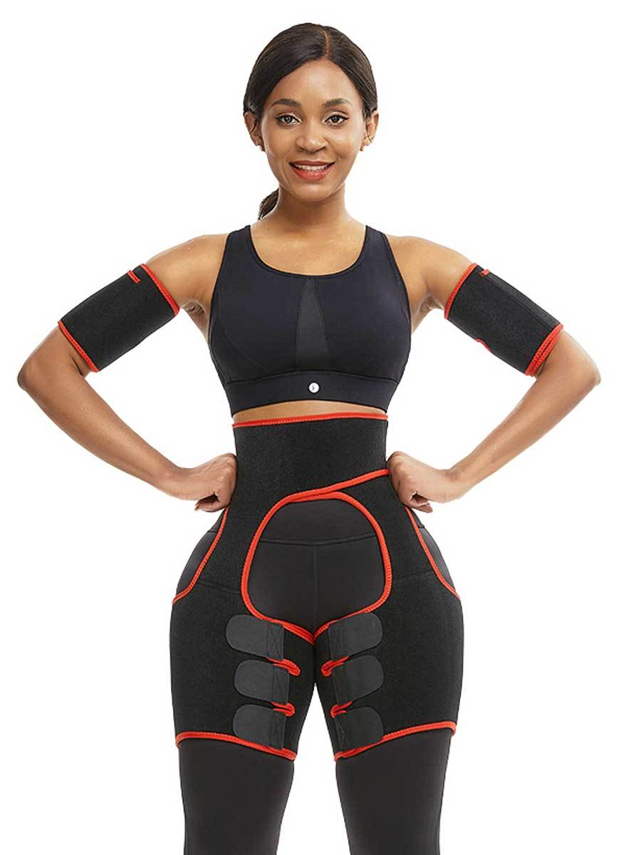 FeelinGirl Best Shapewear For Women Arm Trimmers And Thigh Shaper Workout Fitness