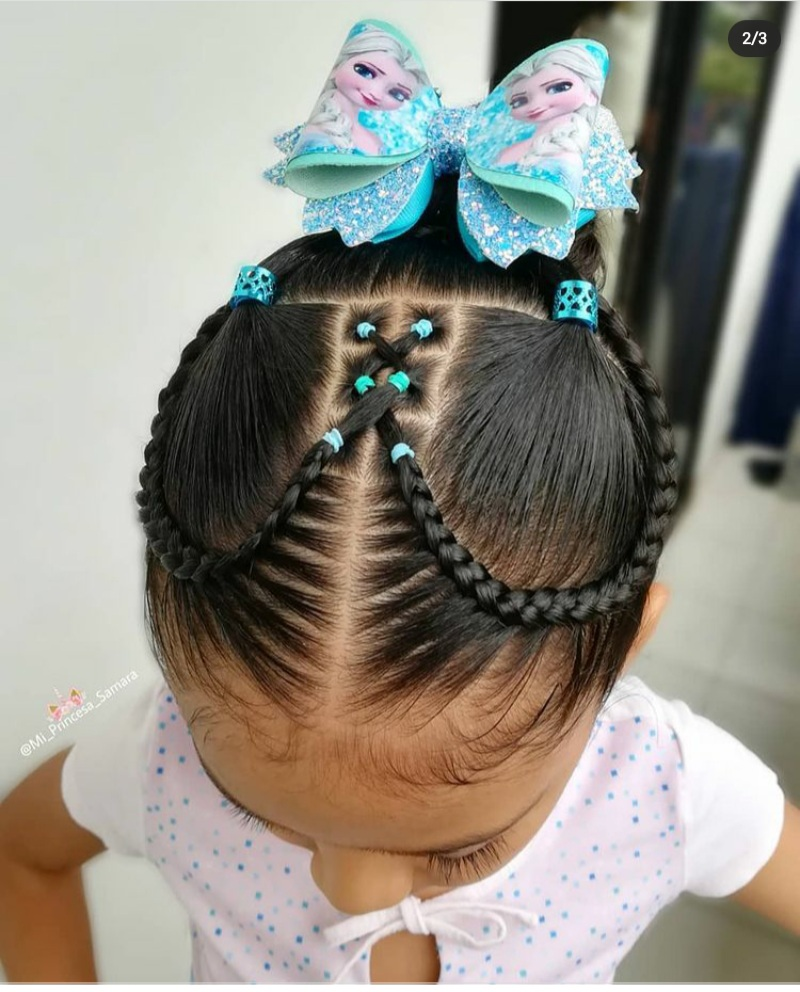 rubber band hairstyles
