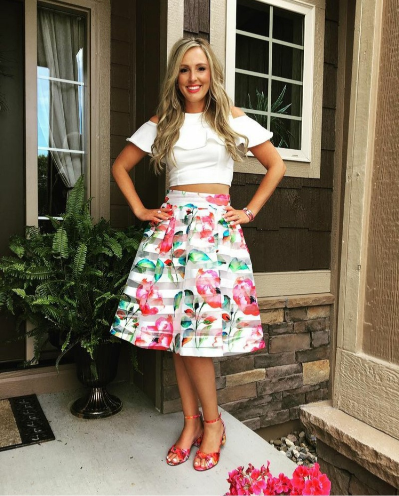 bridal shower outfit